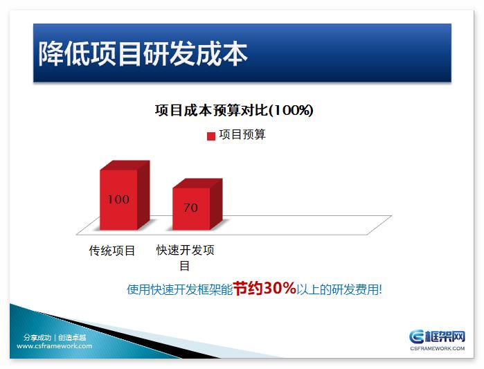CS系统快速开发框架核心竞争力报告