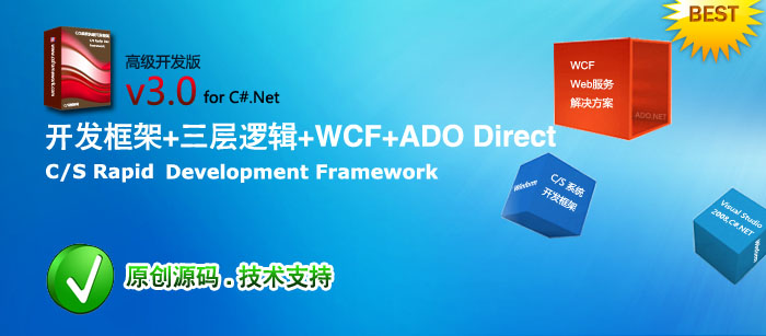 C/S系统快速开发框架高级版V3.0