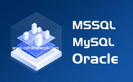 企业版V4.0 - 支持MSSQL、MySQL、Oracle三种类型的数据库