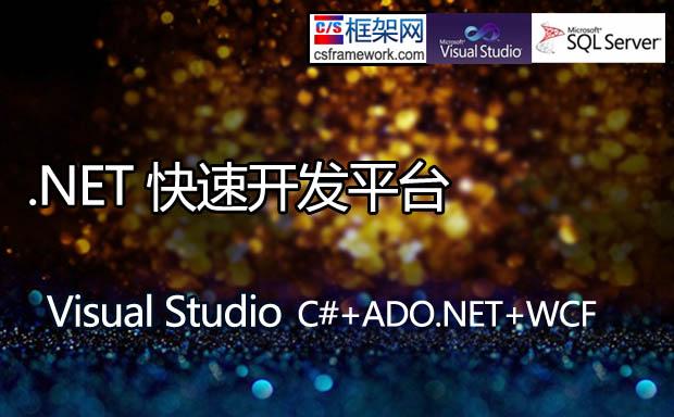 .NET快速开发框架 - 常见快速软件开发平台和开发工具