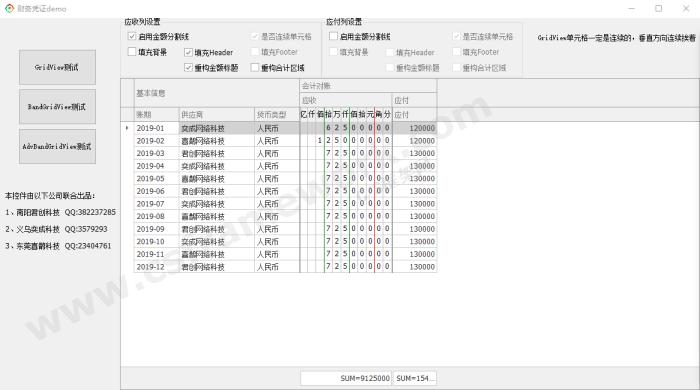 贴图图片-财务凭证表格输入组件demo03