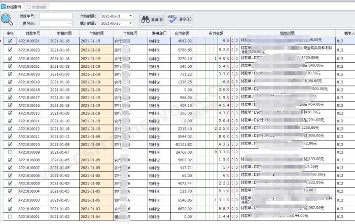 贴图图片-财务凭证表格输入组件demo08