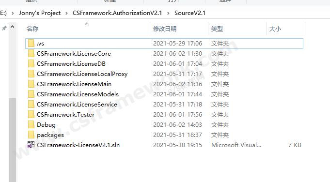贴图图片-CSFramework软件授权系统VS解决方案