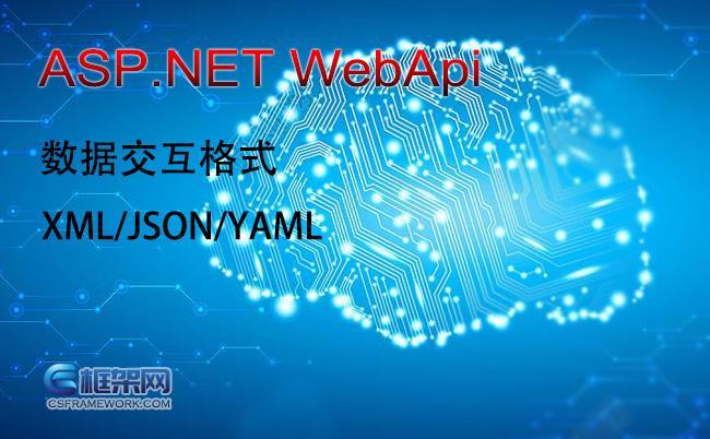 当前比较流行的几种WebApi接口数据交换格式